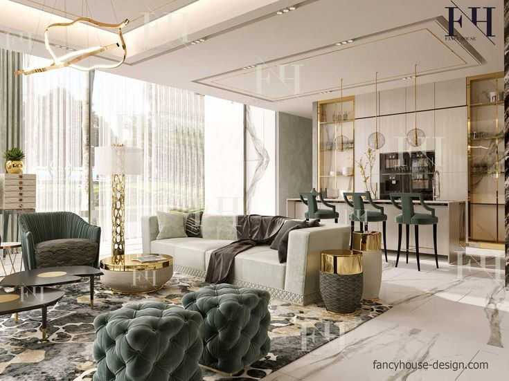 Residential Interior Design Trends In 2019 With Images Luxury House Interior Design