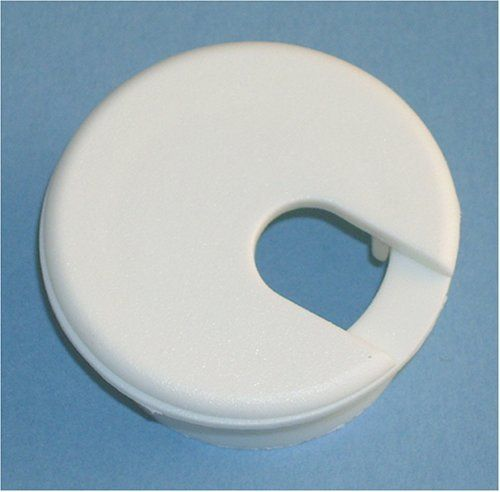 "1-1/2"" White Desk Grommet (1 pc.) by Bainbridge Manufacturing, Inc.. $3.04. 1-1/2"" white desk grommet. Fits in 1-1/2"" round hole."