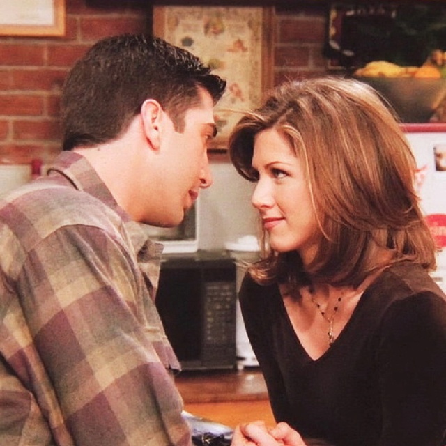 56 Best Images About Ross And Rachel On Pinterest