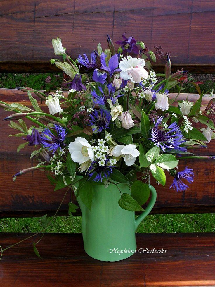 Summer bouquet. www.facebook.com/dekoracjewnetrz www.mwa798.wix.com/mdecor1979