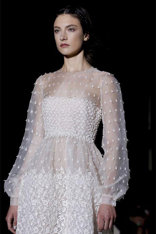 Valentino haute couture, Spring 2013.