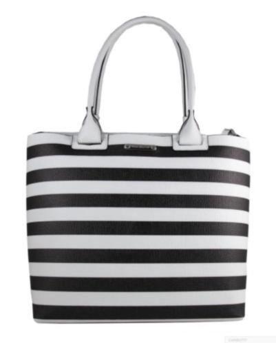 Fijne stijlvolle zomerse shopper met aparte binnentas / clutch. Mooi kalfsleer handgemaakt in Italië Let's go to the beach!