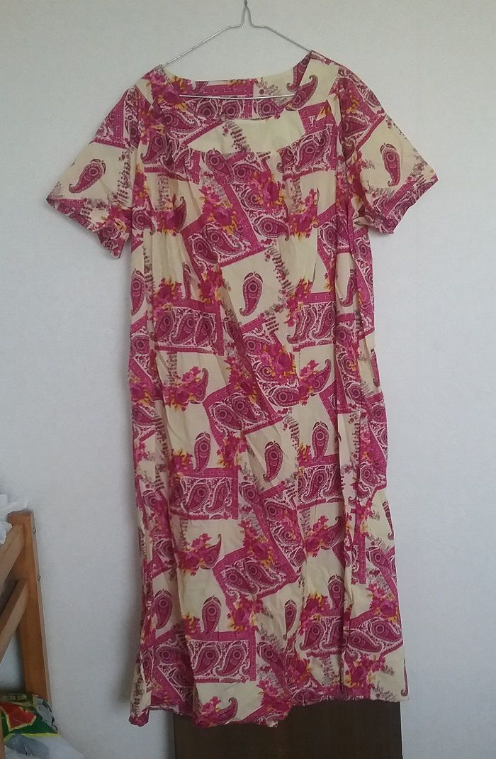 A nightie for one of the knitting ladies.