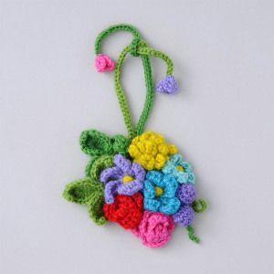 Flower bouquet Charm