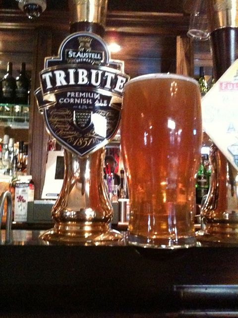 TRIBUTE ALE | St Austell Brewery | Cornwall     ✫ღ⊰n