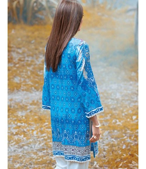 Digital Lawn- Summer Fantacy Kurti Collection By Alkaram DL_12
