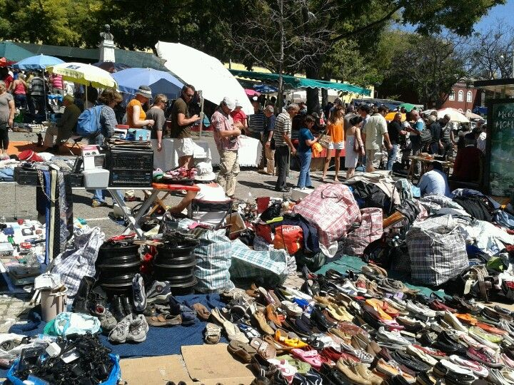 Flea Market open on Tuesdays' mornings and Saturdays