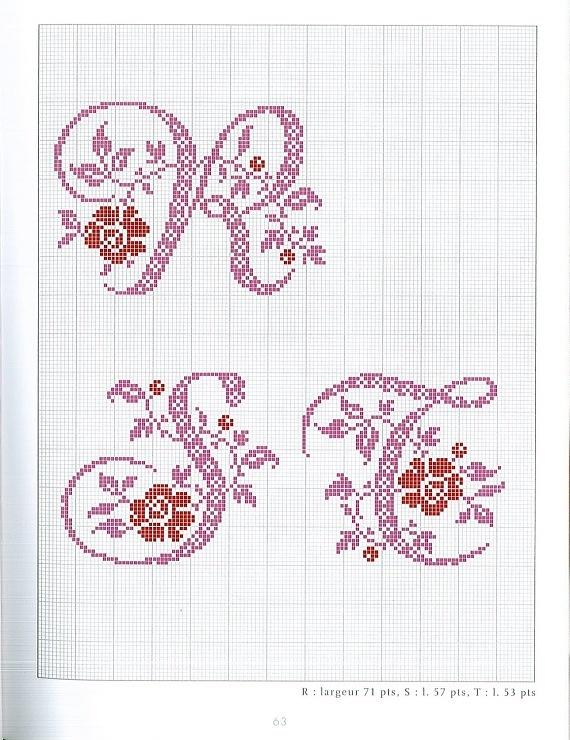 Gallery.ru / Фото #45 - belles lettres au point de croix - moimeme1