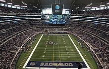 Cowboys Stadium opened in 2009    The happiest place on earth!!!