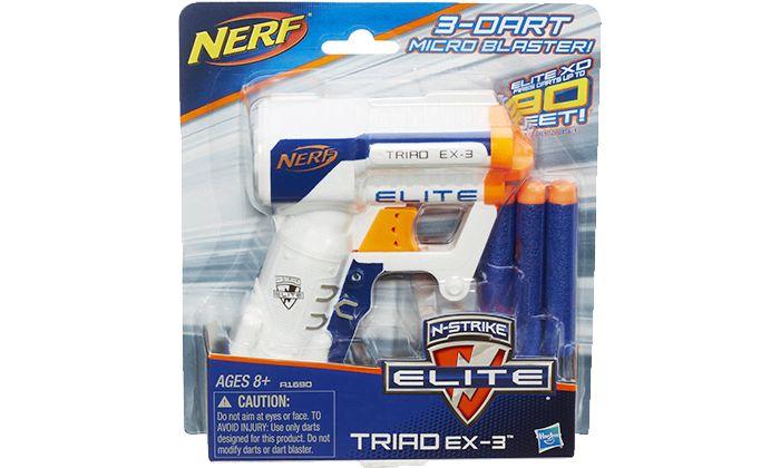 Best Cheap Nerf Gun: Nerf A1690 N-Strike Elite Triad EX-3 Blaster