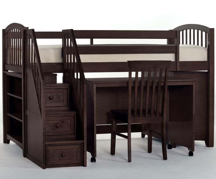 Mini Loft Bed Part - 49: Get 20+ Low Loft Beds For Kids Ideas On Pinterest Without Signing Up | Low  Bunk Beds, Bunk Beds For Toddlers And Loft Bunk Beds