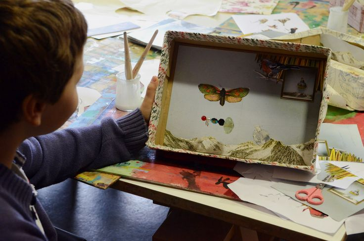 17 best ateliers enfants histoire de boites exposition joseph cornell mus e des beaux arts de. Black Bedroom Furniture Sets. Home Design Ideas