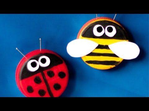 20 Idee per Lavoretti con Tappi di Plastica per Bambini | PianetaBambini.it