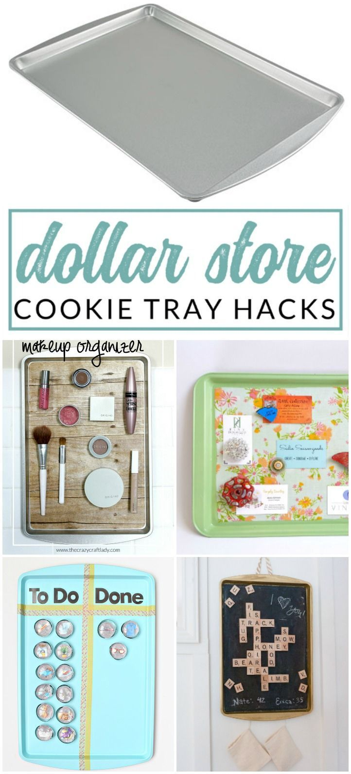 Genius Decorative Magnetic Boards made from Dollar Store Cookie Sheets – #Boards #Cookie #Decorative #dollar #dollarstore