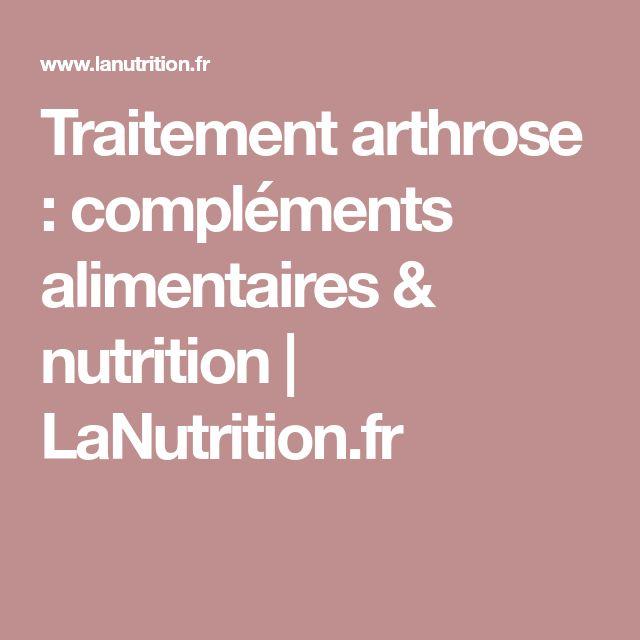 Traitement arthrose : compléments alimentaires & nutrition   LaNutrition.fr