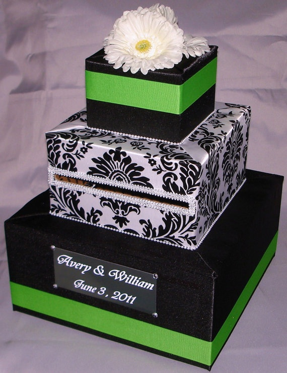 Wedding Shower Gift Card Box : card box- wedding or bridal/baby shower Oh happily ever after