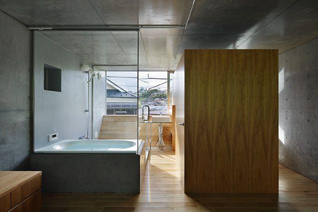 床と天井がカーブする? 地下室でも住みやすく快適な家 #かしこい都会の家   roomie(ルーミー)
