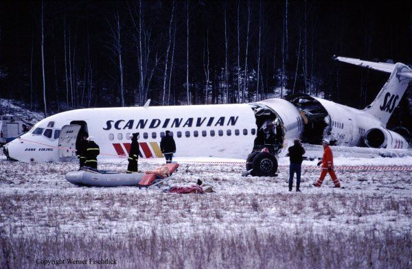 Bizarre Plane Crashes: Ice on #SAS751 wings broke off & was sucked into the engines leading to double engine failure.