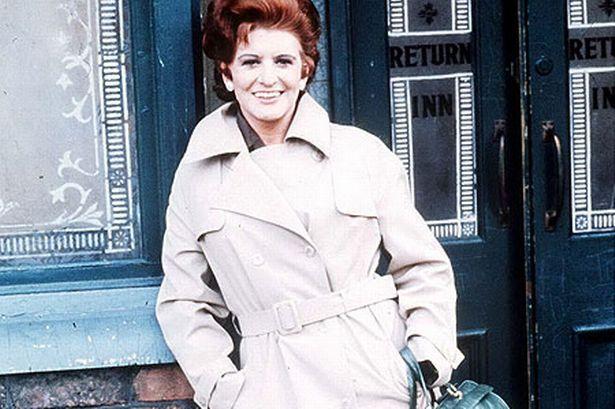 "Pat Phoenix, Elsie Tanner on ""Coronation Street"". Still missed!"