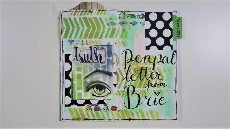 TN Penpal Journal #11 ~ Penpal letter from Brie
