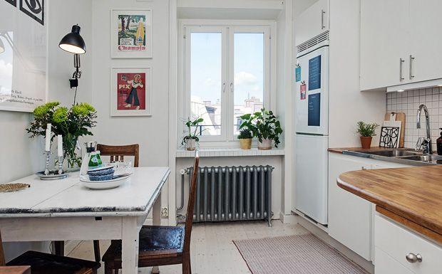 Sélection de cuisines à la déco scandinave | Déco scandinave ...
