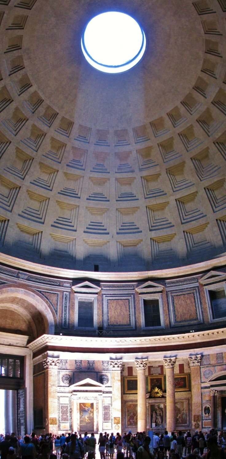 the magnificent design and structure of the pantheon The problem with reinforced concrete the magnificent.