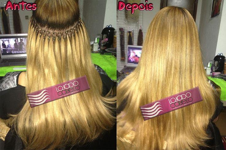 Outra aplicação! Pronto para o corte final! Método de Aplicação: Nó Italiano - Tipo de Cabelo:  #Cabelo    Indiano   #Colorido     - Quantidade: 300 Gramas - Fornecedor do Cabelo: +Loja do Cabelo - Extensões de Cabelo Natural - Contacto: +351 (Portugal) 96 531 90 55 - +Cláudia Botelho  #hair   #hairstyle   #extensõesdecabelo   #extensões   #megahair   #lojadocabelo