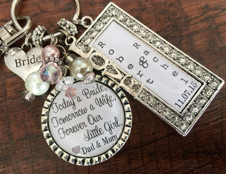 Gifts For Girls On Wedding: Wedding Gift For BRIDE, Bridal Bouquet Charm, BRIDE Gift