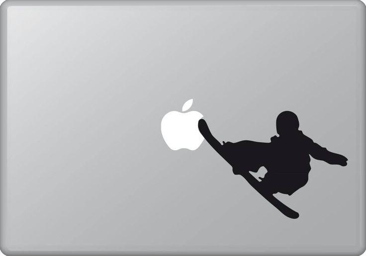 Snowboarder 2 | MacBook sticker | #pasteit #sticker #stickers #macbook #apple #blackandwhite #art #drawing #custom #customize #diy #decoration #illustration #design #sport #sports #extremesport #extremesports #freestyle #freestyler #wintersport #wintersports #snowboard #snowboarder