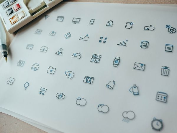 A New Collection Of Free Icons For Designers (PSD, AI, EPS, SVG)