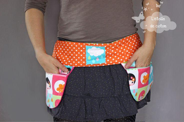 Tuto gr☆...☆...☆... ........................... atuit ceinture à poches - La Mercerie de L'Etoile de Coton