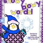 This unit is a mini activity to help students build correct sentences using penguin word cards. Very fun to use, especially in winter or to add to a unit about penguins.  Wishing you a lovely winter!
