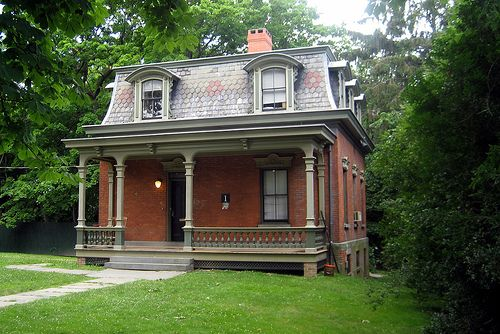 NYC - Staten Island - Sailors' Snug Harbor:  1 Cottage Row by wallyg, via Flickr
