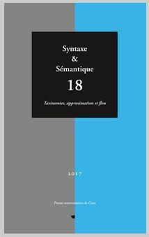 Syntaxe & Sémantique (Cairn)