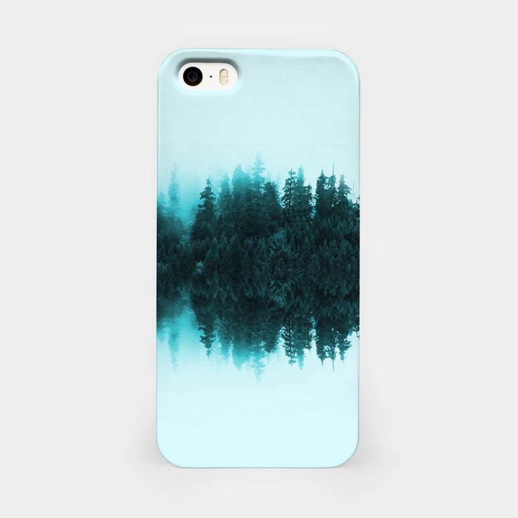 Cloudy Forest iPhone Case, Live Heroes