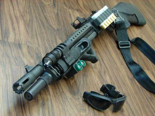 You're not bulletproof..., Custom Mossberg 500 Shotgun