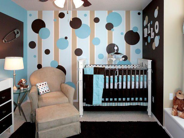 super cute nursery for a baby boy