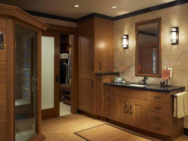 15 traditional tall bathroom cabinets design - Cabinet Designs For Bathrooms