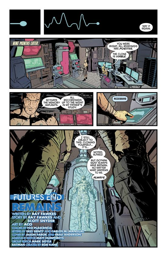 Bruce Wayne Clones Himself in Preview for Batman: Futures End No. 1