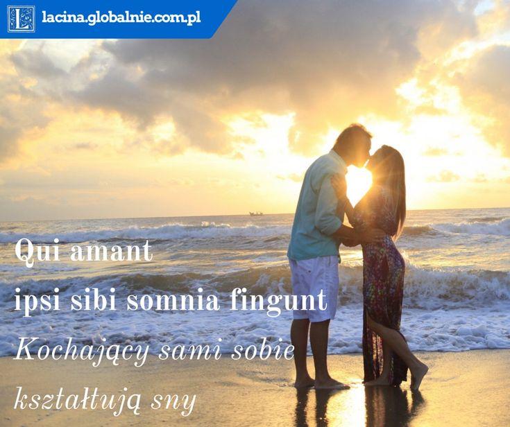 Najpiękniejsze sentencje o miłości  Qui amant ipsi sibie somnia fingunt - kochający sami sobie kształtują sny http://lacina.globalnie.com.pl/sentencje-o-milosci/ #miłość #sentencje #łacina #złotemyśli #cytaty #sentencjeomiłości