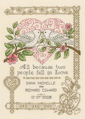 more traditional -- i kind of like the birds, but not the border.