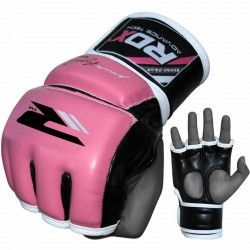 RDX Ladies Leather-X MMA Training Grappling Gloves