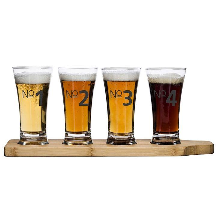 Sagaform Bier Proeverij Glazen - Set van 4