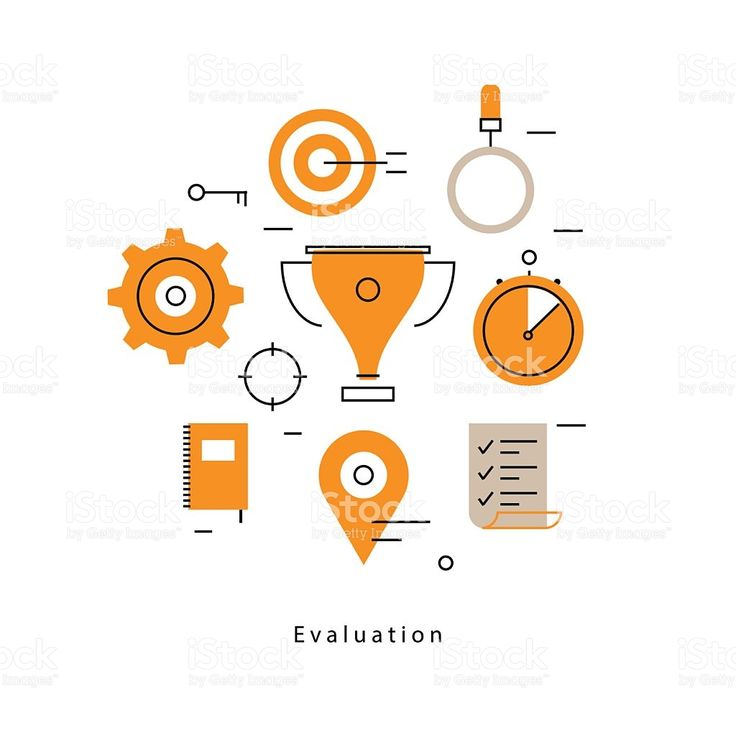 Performance evaluation and assessment royalty-free stock vector - performance evaluation