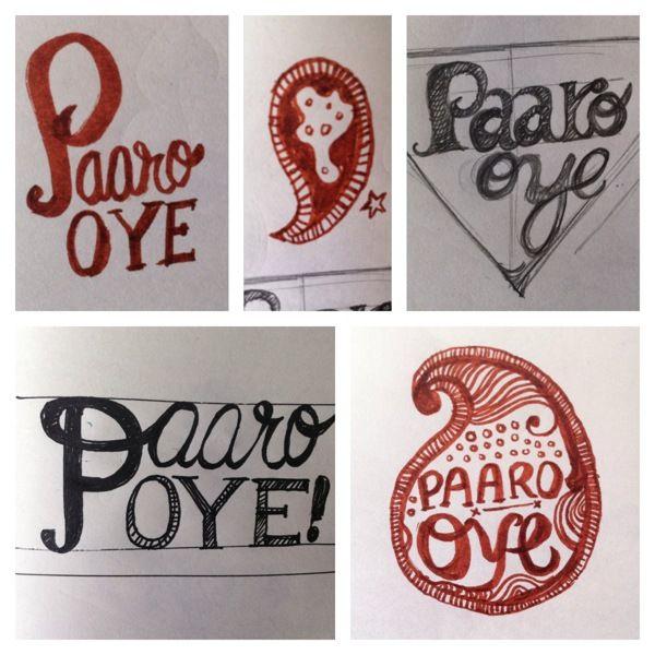 Paaro Oye Branding by Deepikah R B, via Behance