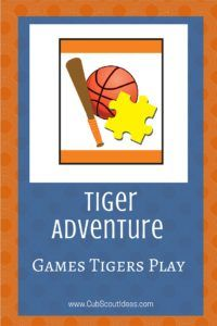 Tiger Games Tigers Play