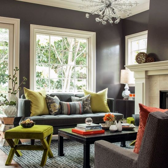 How do you go gray after being beige for all these years? How do you take  your warm colored house that has beige or gold in it and introduce the  cooler shades of gray?