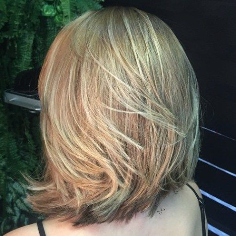 Collarbone Layered Bob For Thick Hair