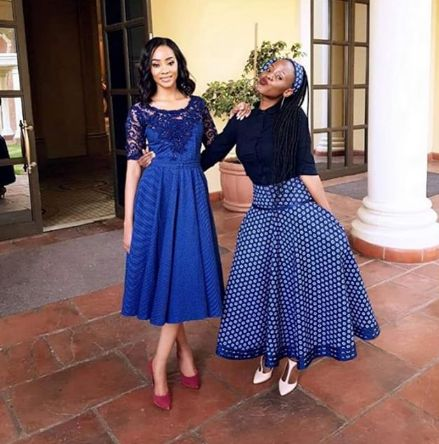 Top South African Shweshwe Dresses For Women 2019 In 2019
