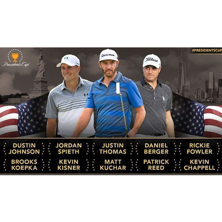 Presidents Cup - Teams USA
